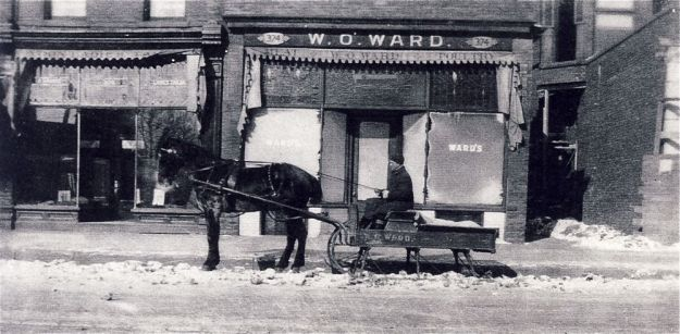 W O Ward cart winter