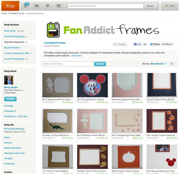 FanAddictFrames