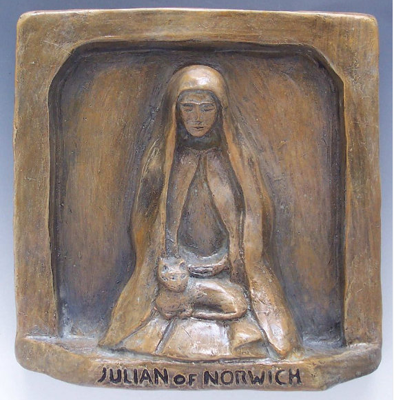 Julian of Norwich statue