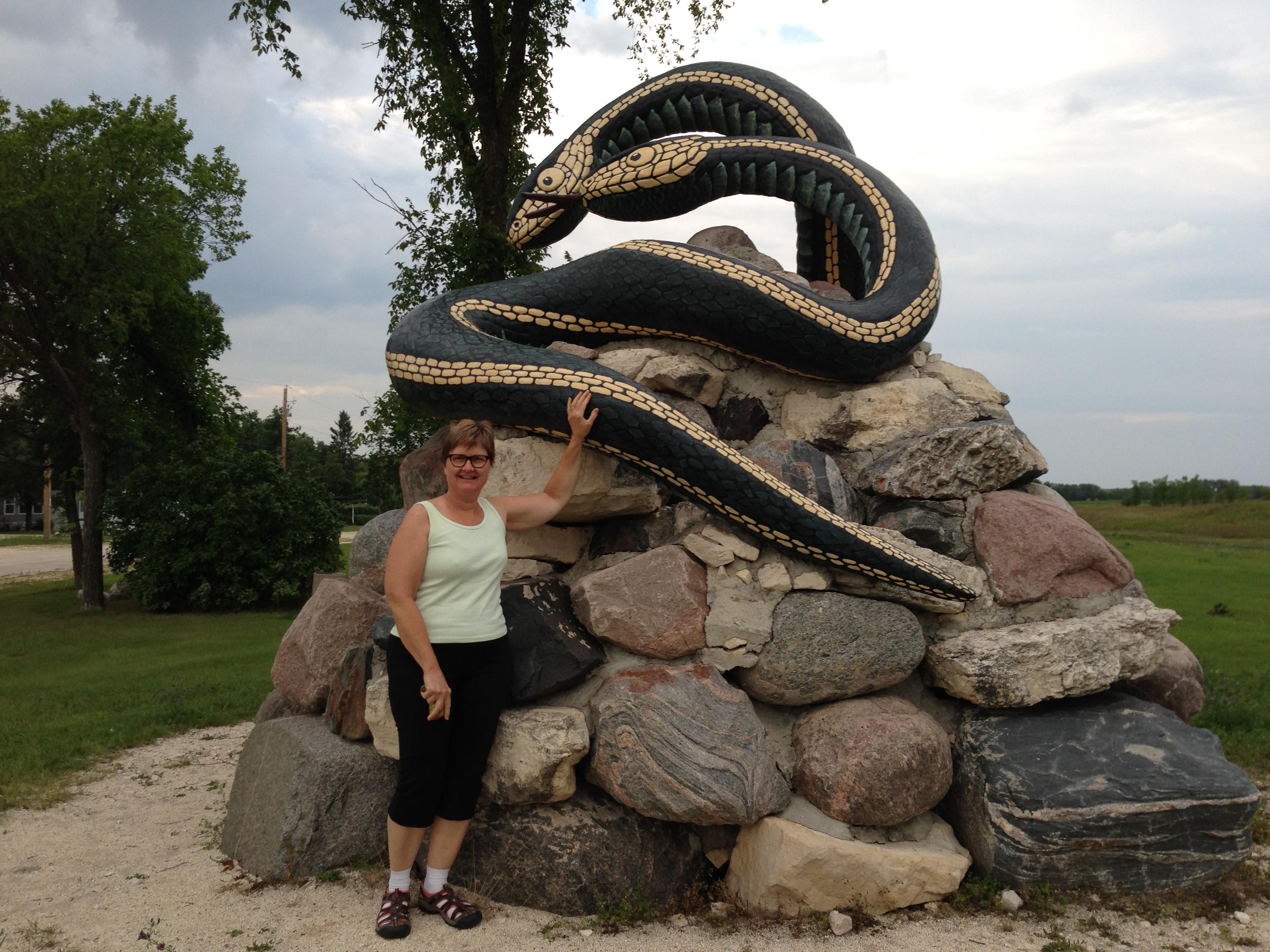 narcisse snake pits   Evelyn Ward de Roo