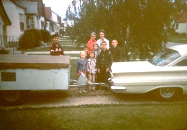 leaving for CA 1964