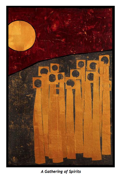 Image: A Gathering of Spirits © Jan L. Richardson