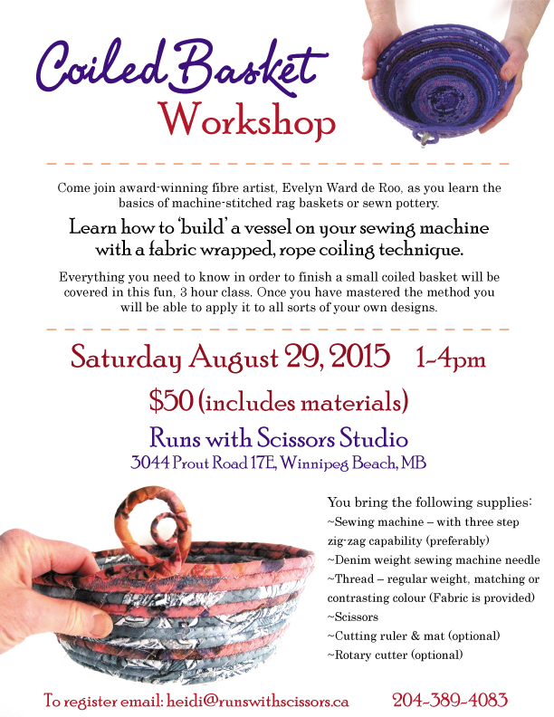 Coiled Basket Workshop