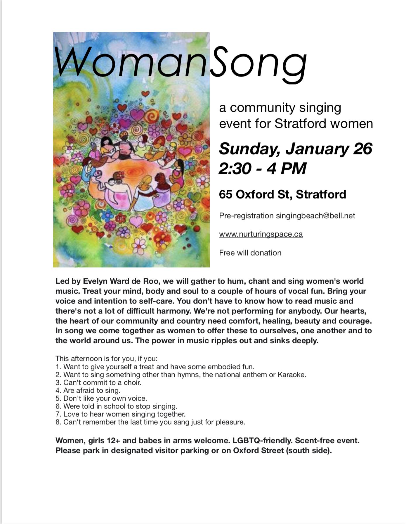 WomanSong Jan 2020