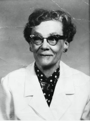 Florence Ada Harris, 1903-1983